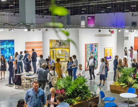 Feiras de arte | Art Basel Miami Beach, 2017. Via: ArtNews