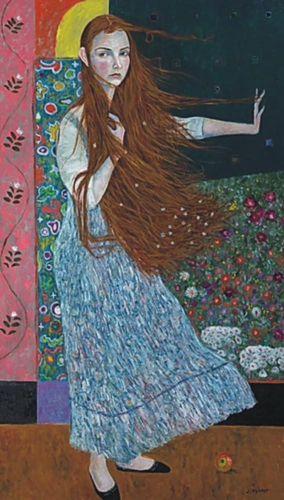 Sávio Floret. Alice - OST 70X120 cm - R$ 28.800,00