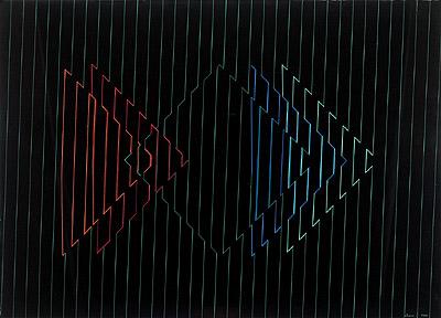 Lothar Charoux, op art
