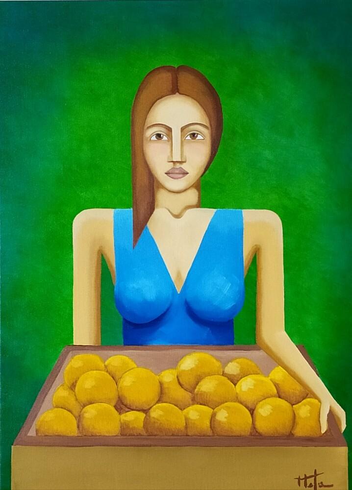 Karllos Mota - Vendedora de Frutas
