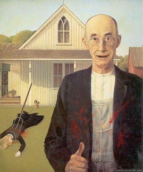 American Psycho Gothic