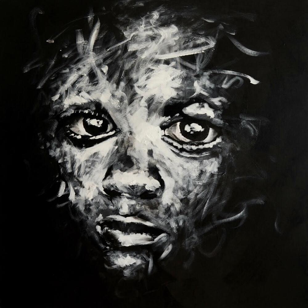 olhares pretos - Zanotto