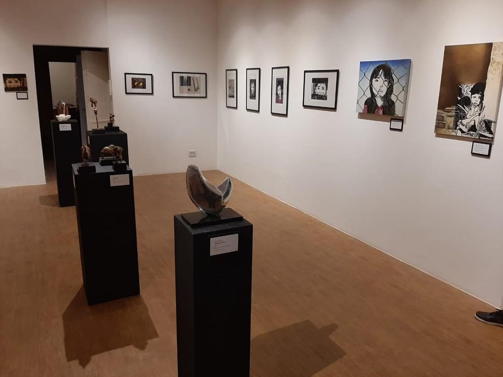 Exposição Os Três Sentidos no Museu Umbelina Ferreira Barbosa