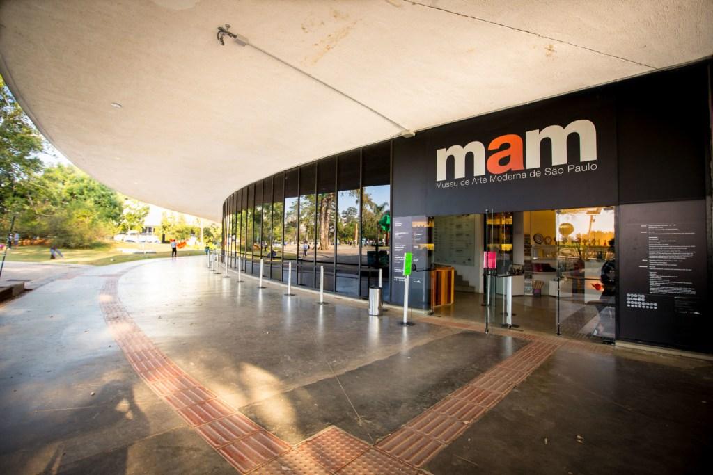Museu de Arte Moderna de SP - MAM.  Foto: Daniel Guimarães/A2IMG