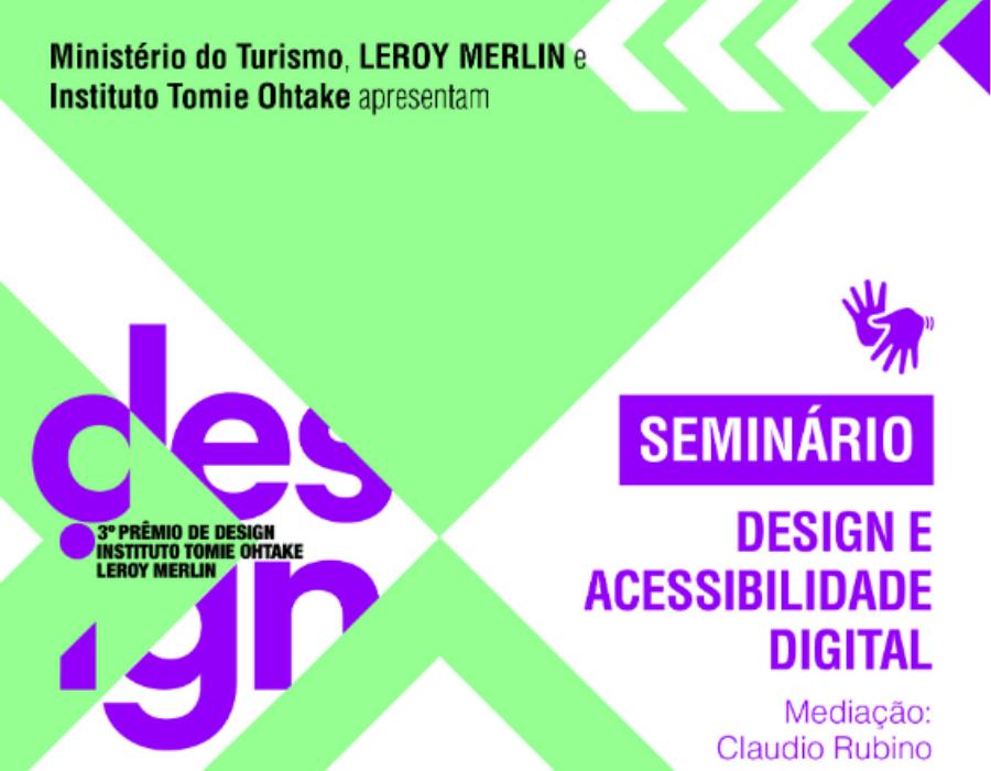 Seminário: Design e Acessibilidade Digital