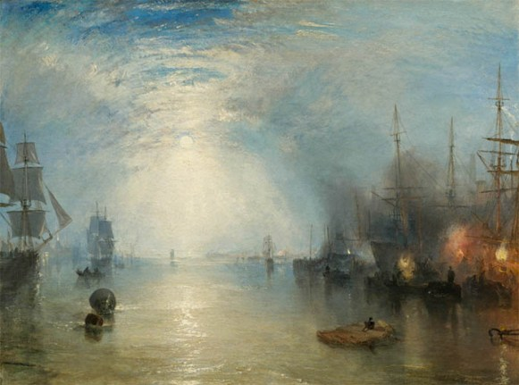 Joseph Mallord William TURNER (1775‑1851) Keelmen levantando carvão ao luar, 1835