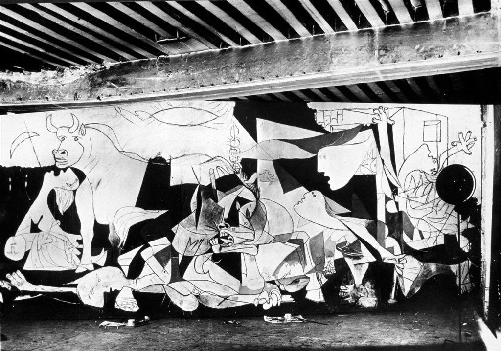 Figuras definidas. Guernica, 1937.