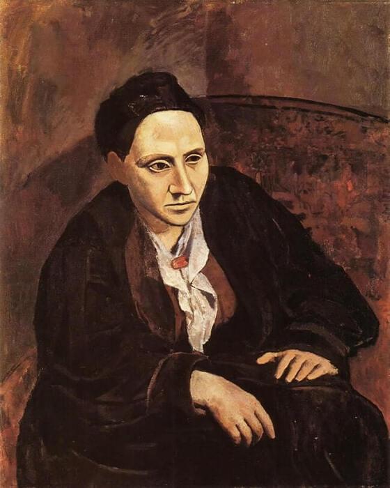 Pablo Picasso. Retrato de Gertrude Stein, 1905