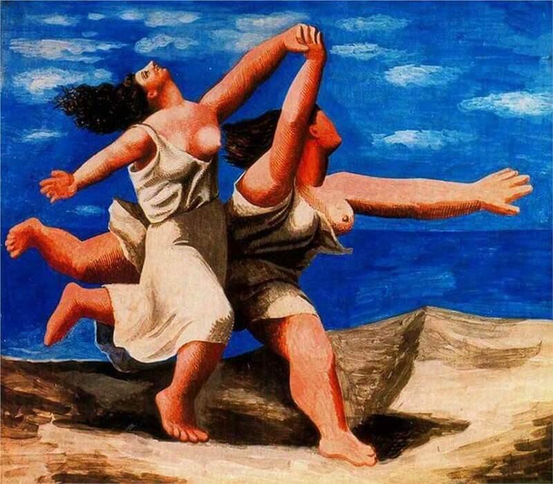 Pablo Picasso. Duas mulheres correndo na praia (a corrida), 1922