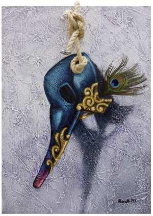 Gilberto Moralli - Máscara Azul