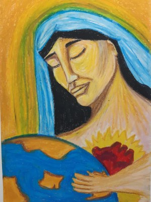 Ana Gadelha - Padroeira da Terra, envia-nos amor