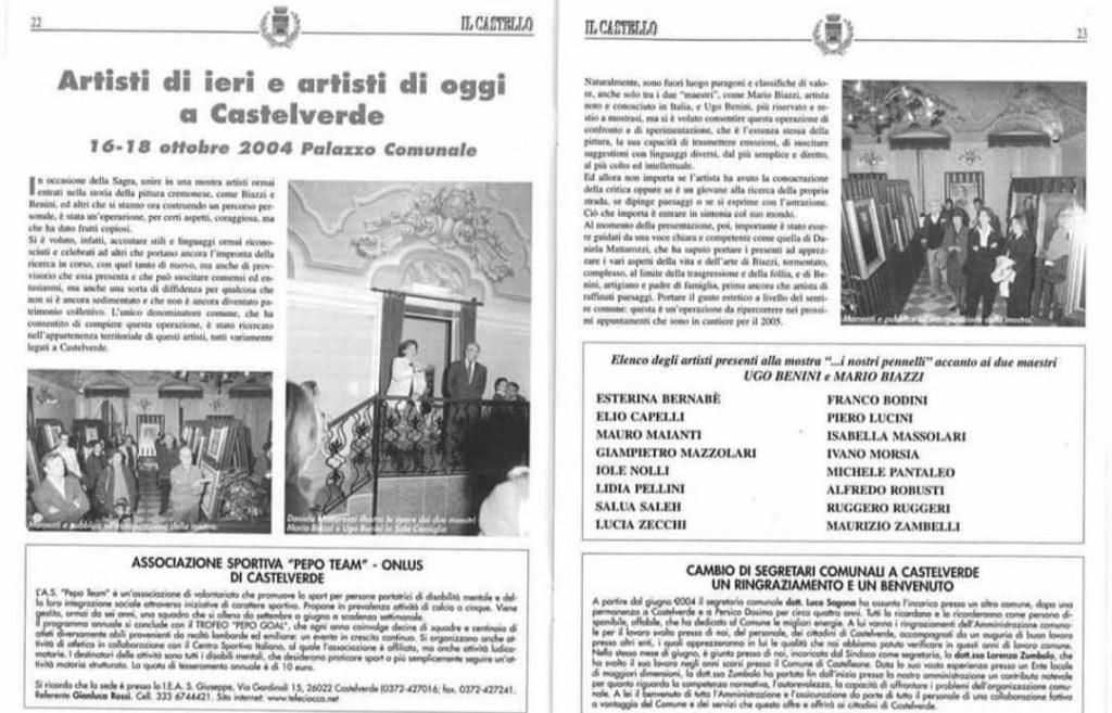 Exposições - Itália