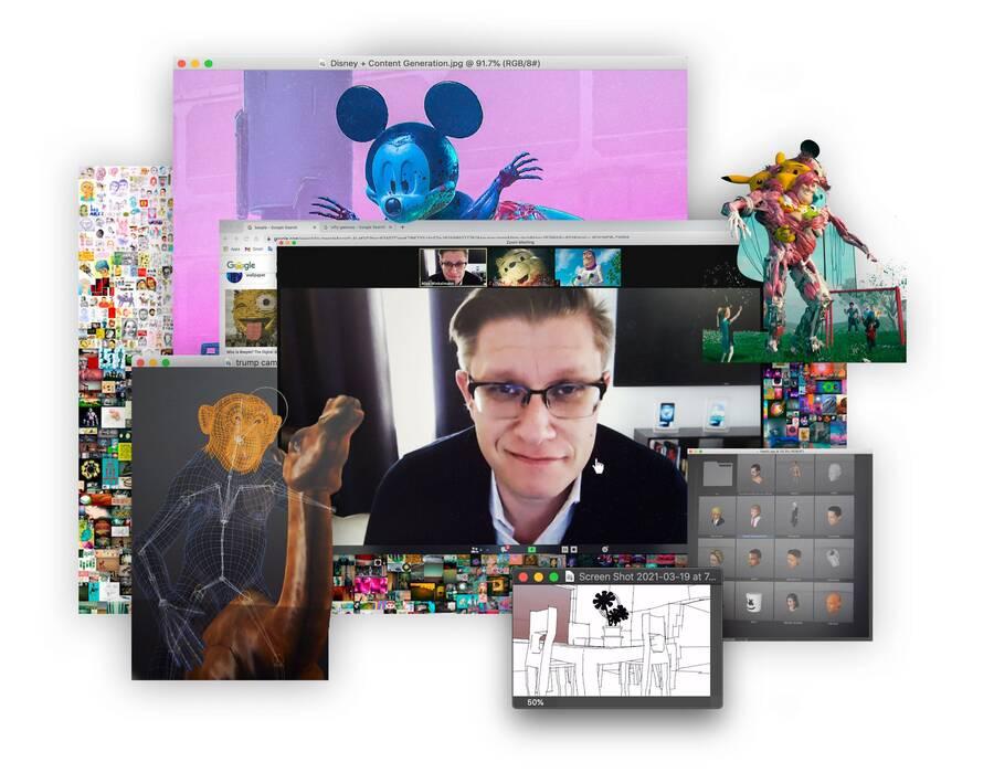 Beeple e o NFT: uma revolução na arte digital