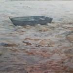 Lidia Madeira Aquarela. O Barco No Rio Piracicaba (1)