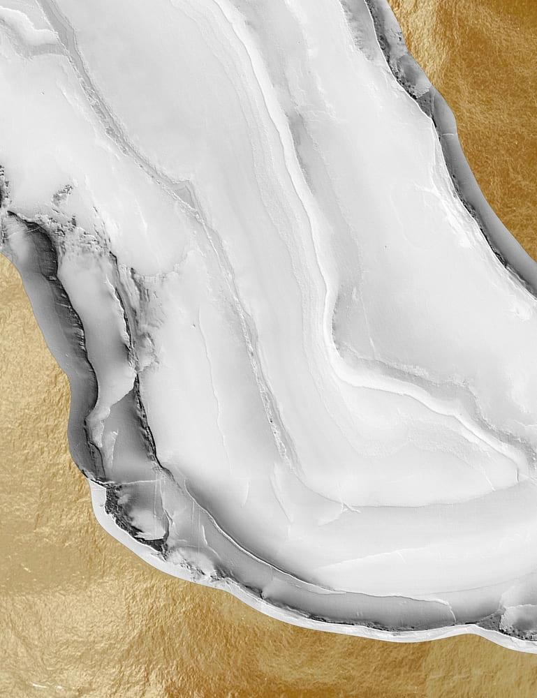 Janaína Coll -Marble Gold II