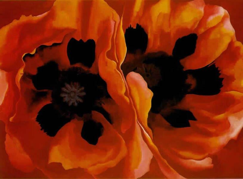 Georgia O'Keeffe - Oriental Poppies, 1928