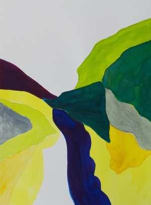 Marisa Carvalho - Ressoar I, 2021, ecoline, 32 x 24 cm
