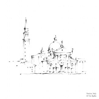 Tim Bjella Sketches - Venice