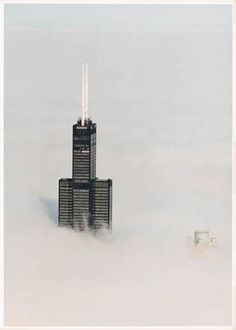 Willis Tower Above the Clouds