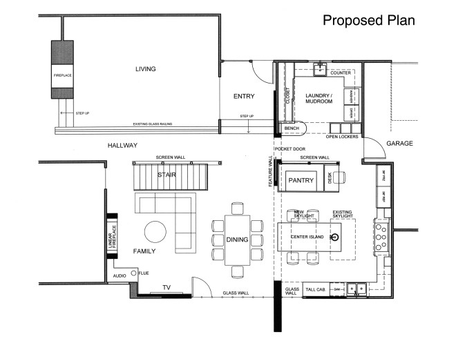 Kitchen Plan - Proposed