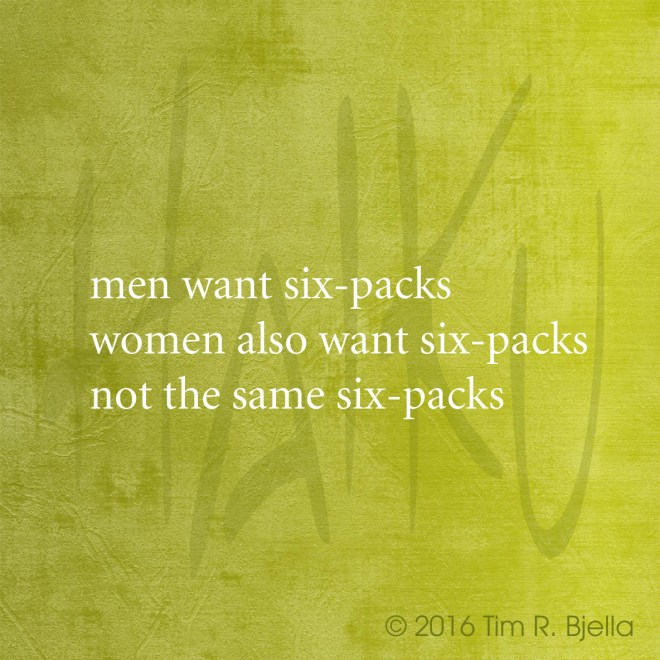 Haiku - Sixpacks