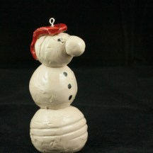 Bjella Snowman Ornament - Dad-25