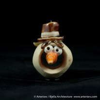 Bjella Snowman Ornament - Day 8 - Monsters-56