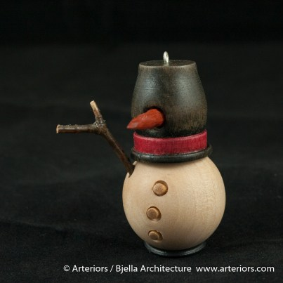 Bjella Snowman Ornament - Day 9 - Cutesy-28