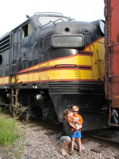 Bjella Family at Trainyard-2
