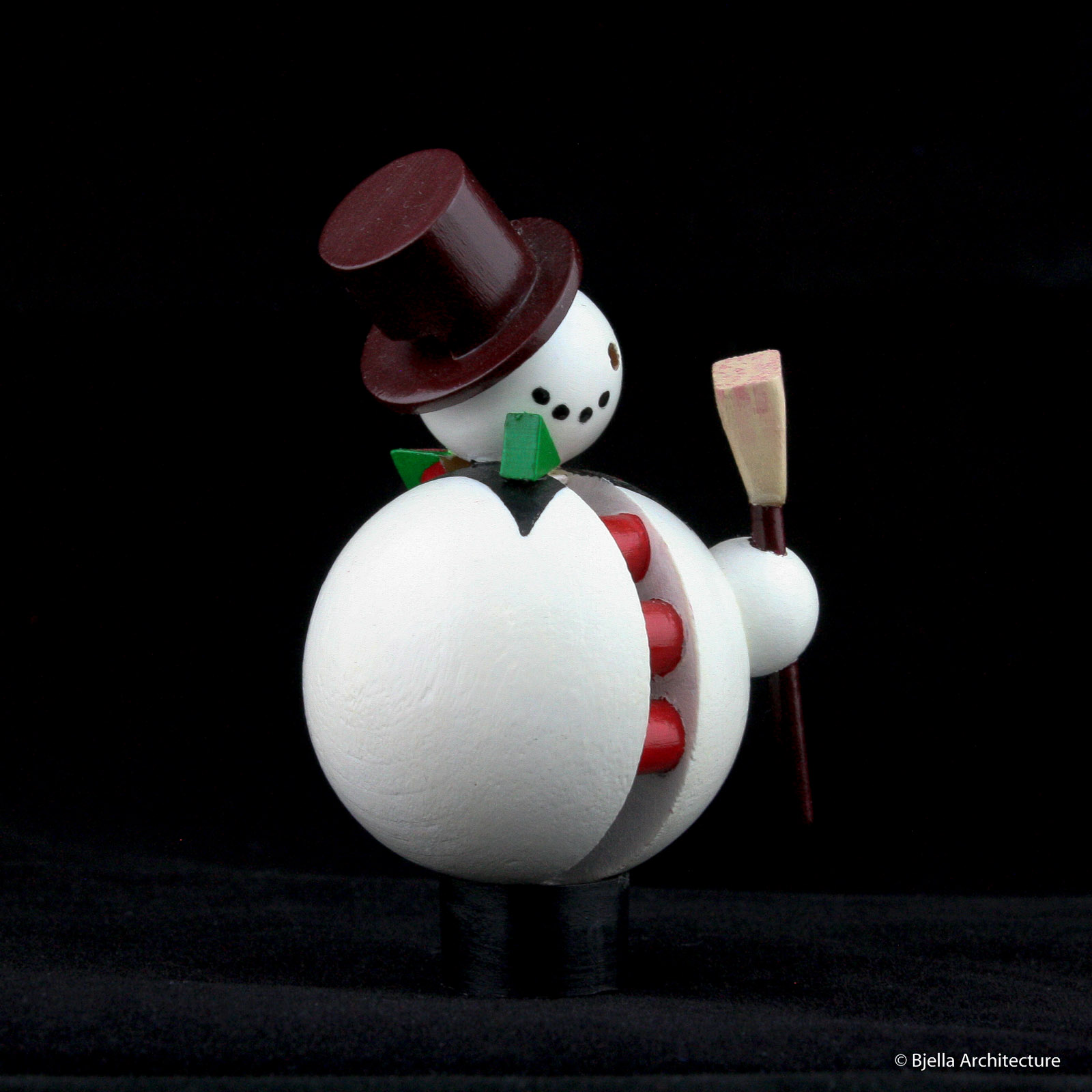 First Snowman Ornament by Tim Bjella-2