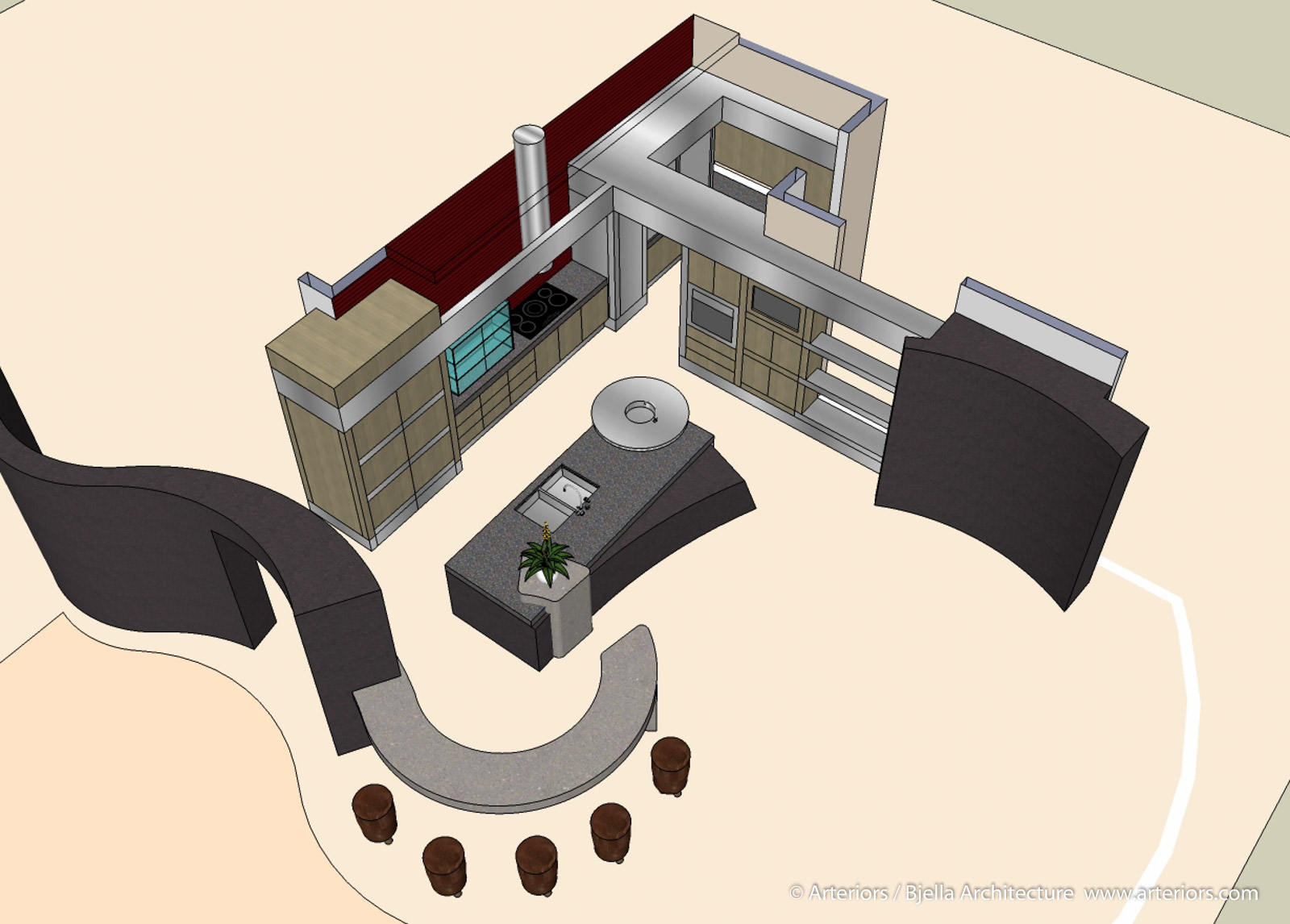 James Bond Kitchen - Conceptual Images-7