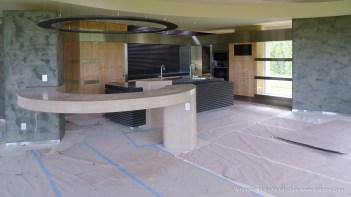 James Bond Kitchen - Construction Images-1