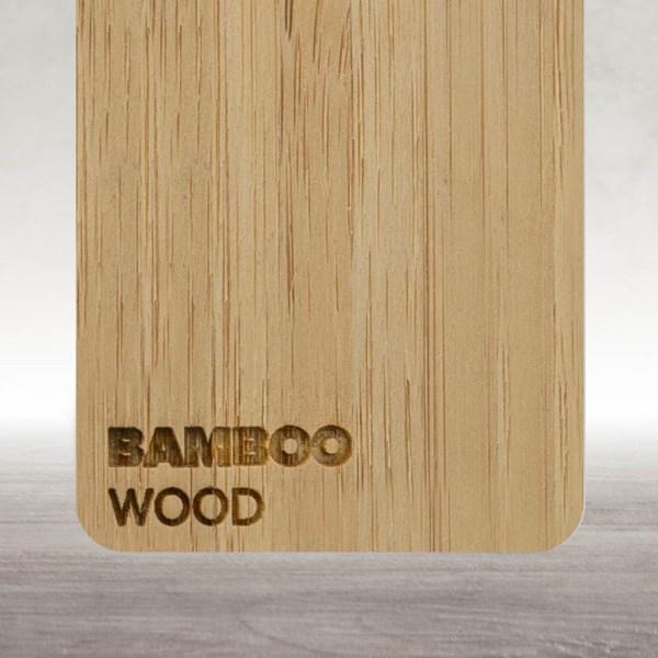 Madeira de Bamboo Flux Lasers