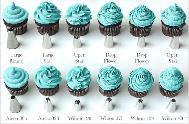 Cupcakes Decorados (Diversos Bicos)