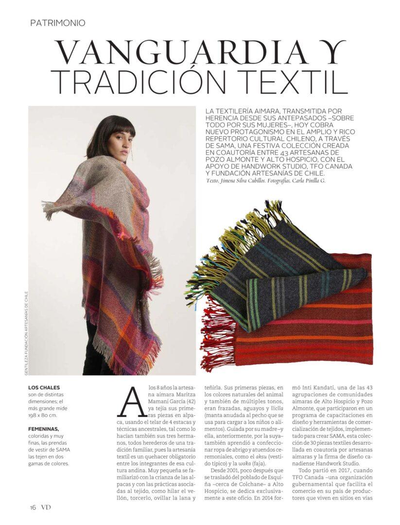 Vanguardia y tradición textil – Revista Vivienda y Decoración