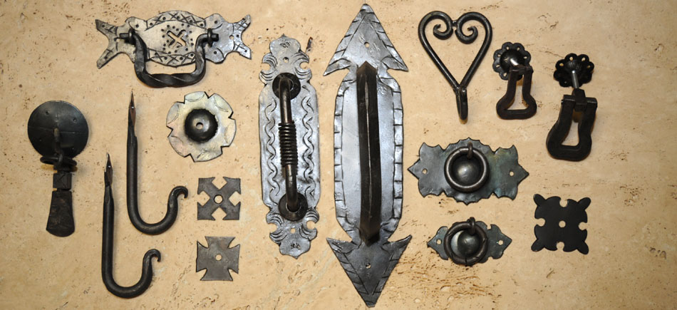 HARDWARE Rustic hand forged and cast bronze pieces from Zacatecas, Mexico. This product is still produced in the same manner as it was manufactured a century ago.
