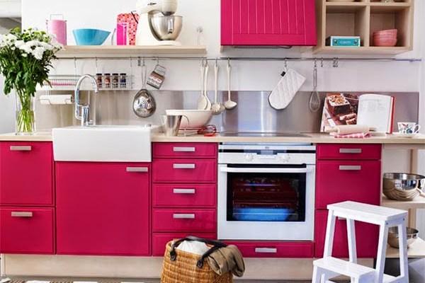 Decoração – Cozinhas Vibrantes!!!