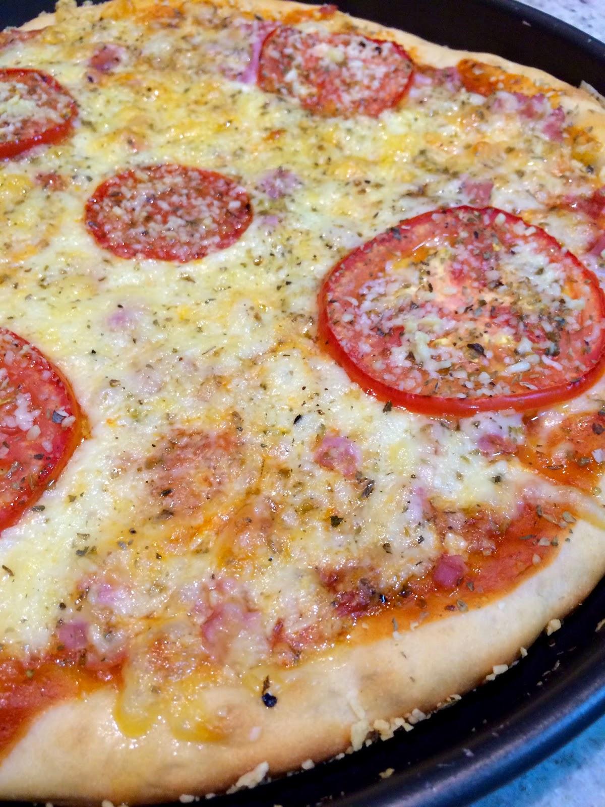 Pizza Fácil com apenas 2 Ingredientes!!!