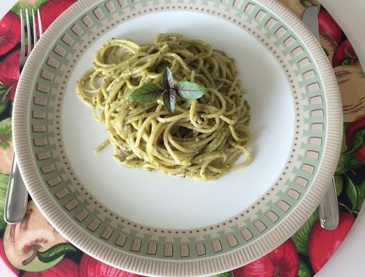 Dia Mundial do Macarrão – Espaguete ao Pesto!!!