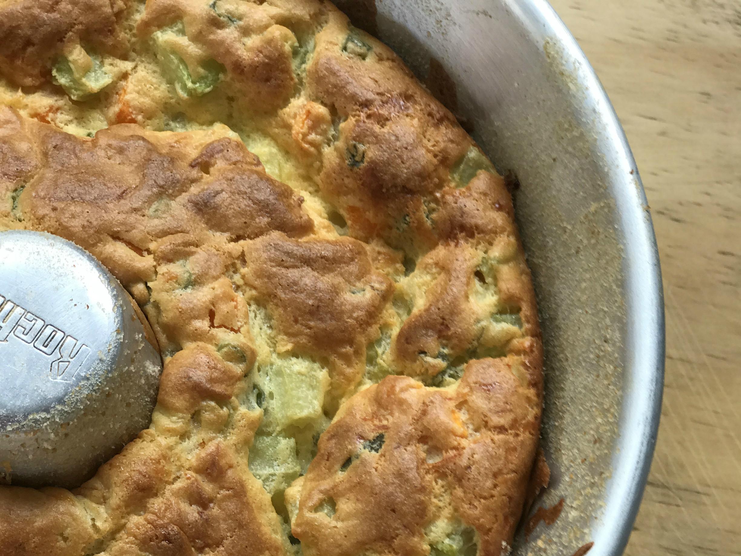 Bolo de Legumes, delicioso e com ingredientes simples