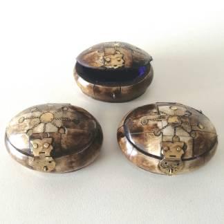 Cajas de hueso tibetano