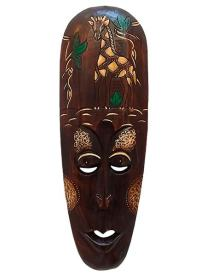 Máscara lombok para decoração
