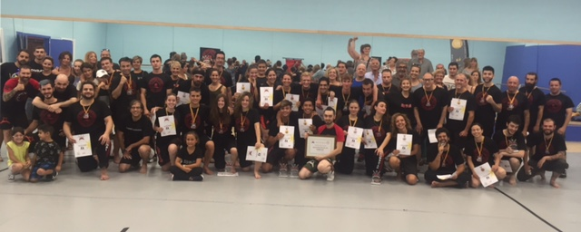 ¡ Exitazo! 3 Oros, 2 Platas y 4 Bronces en el Campeonato de España de Kombatan StickFighting