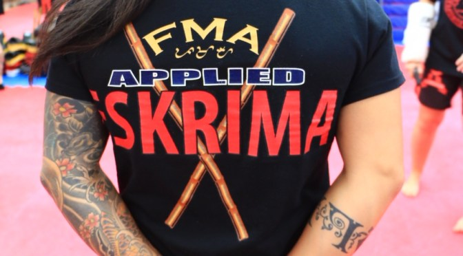 Curso de Applied Eskrima con Master V de California