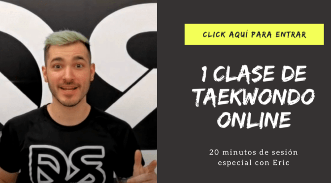 CLASE DE ARTES MARCIALES TAEKWONDO ONLINE DOYANGSAL