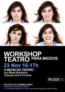workshop o bicho do teatro