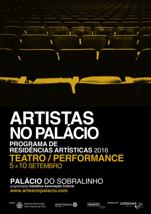 Artistas no Palácio | Teatro