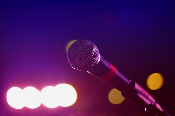 Imagem de um microfone