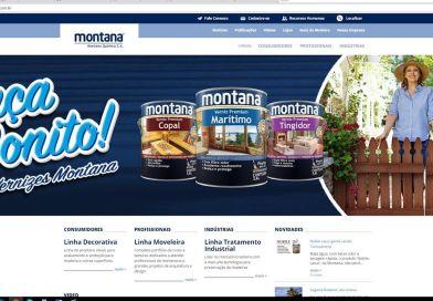 Novo site da Montana Química chega com novidades e cores aos olhos!
