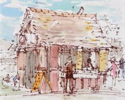 Libardi's Kiosk, Aldeburgh 105 x 84 mm